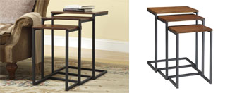 Carolina Cottage Madison Nesting Table In Set of 3 Review
