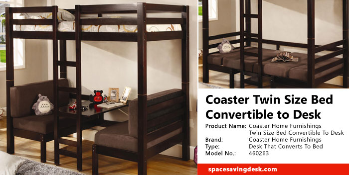 Coaster Twin Size Convertible Loft Bed Review