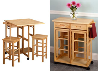 Winsome Space Saver Table with 2 Stools Review