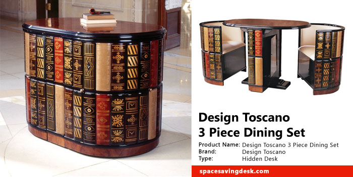 Design Toscano 3 Piece Dining Set Review Space Saving Desk