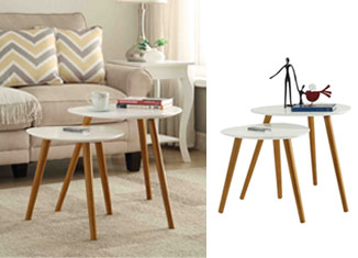 Convenience Concepts Oslo Nesting End Tables Review