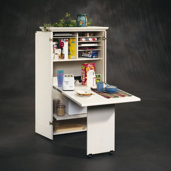 Sauder Harbor View Craft Armoire Review | Space Saving Desk