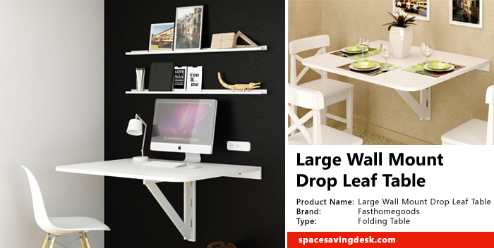 Charming Large Wall Mount Drop Leaf Table Review