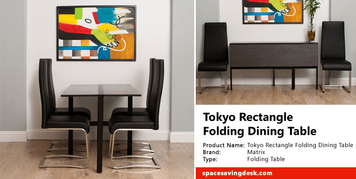 Tokyo Rectangle Folding Dining Table Review