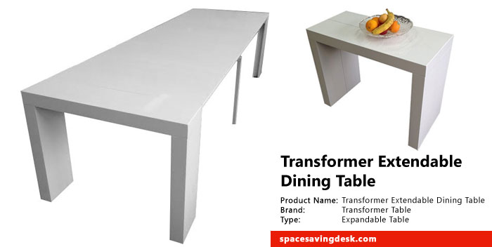 Transformer Extendable Dining Table Review Space Saving Desk