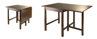 WINSOME Lynden Drop Leaf Dining Table Review