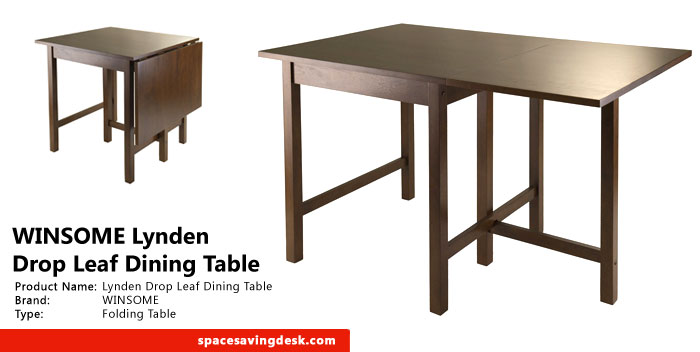 drop leaf dining table can be used daily as a breakfast square table