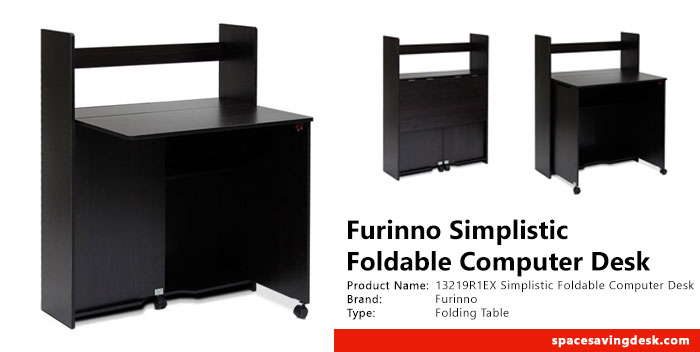 Furinno 13219R1EX Simplistic Foldable Computer Desk Review
