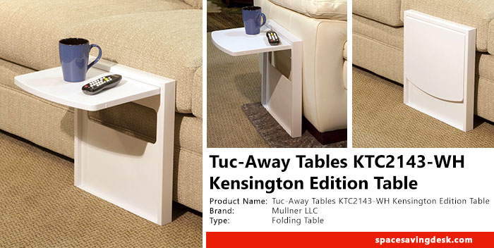 Tuc-Away Tables KTC2143-WH Kensington Edition Table Review