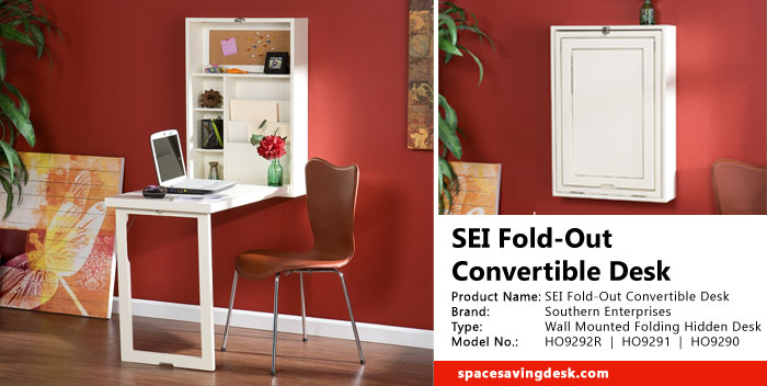 Sei Fold Out Convertible Desk Review Space Saving Desk