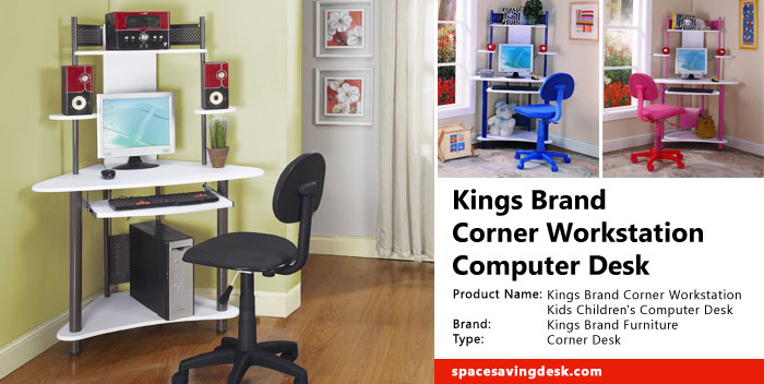 Kings Brand Corner Workstation Computer Desk Review