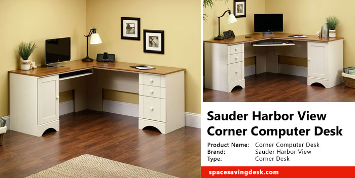 Sauder Harbor View Corner Computer Desk Review