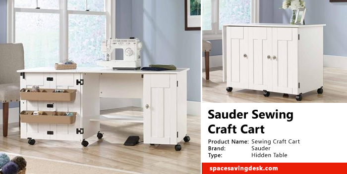 Sauder Sewing Craft Cart Review