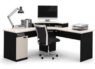 Bestar Hampton Corner Computer Desk Review