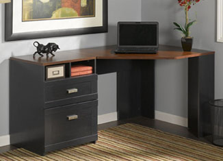 Wheaton Collection Reversible Corner Desk