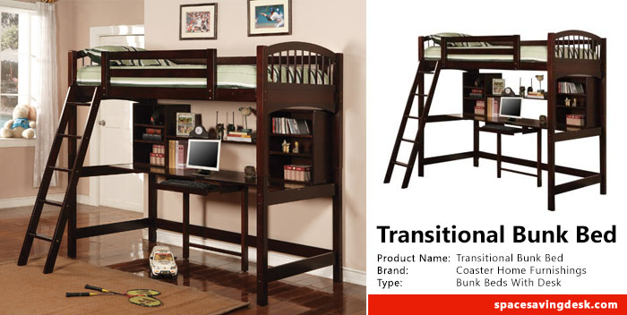 Coaster Home Furnishings Transitional Bunk Bed Review