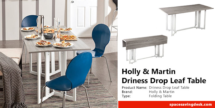 Holly & Martin Driness Drop Leaf Table Review