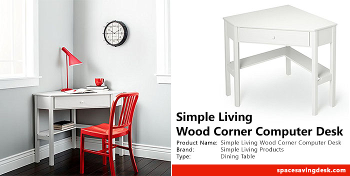 Simple Living Wood Corner Computer Desk Review